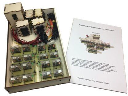 2-Bit-Computer mit Handbuch