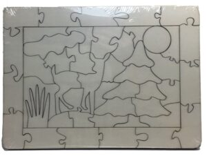 Puzzle Verpackung