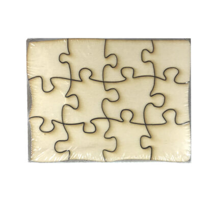 Holzpuzzle zum selber anmalen